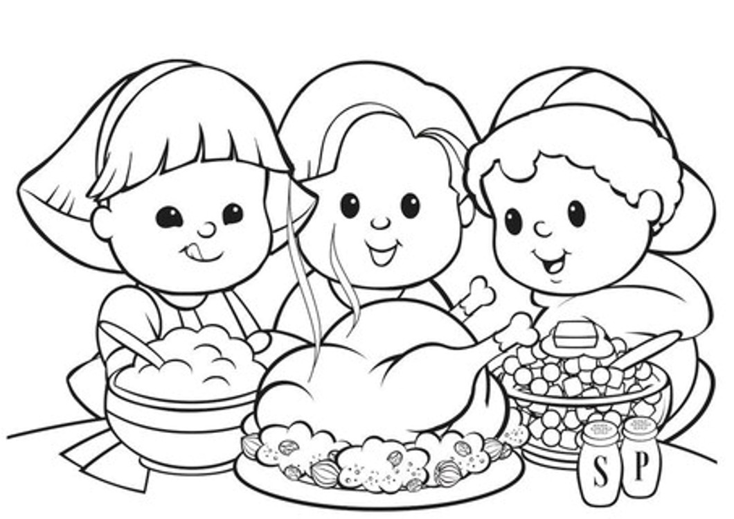 16 Free Thanksgiving Coloring Pages For Kids Toddlers Simply