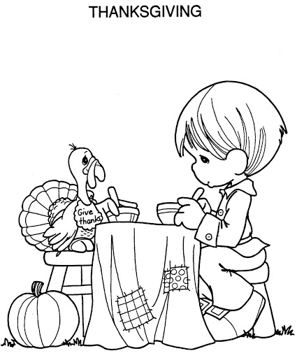 Turkey Thanksgiving Coloring Page For Kids Toddlers Thankful Turkeys