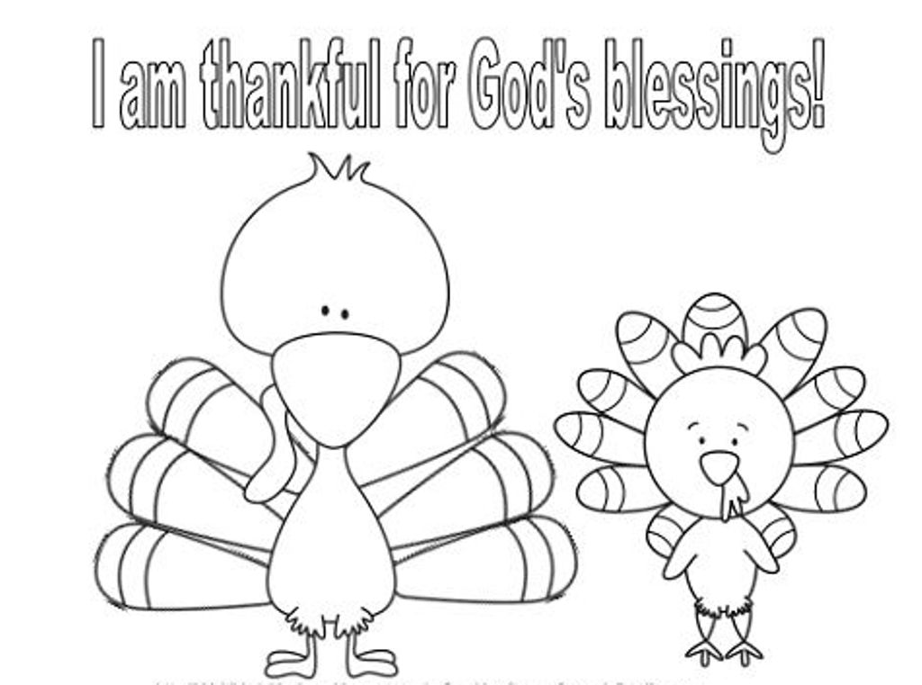 thanksgiving baby turkey coloring pages - photo#10